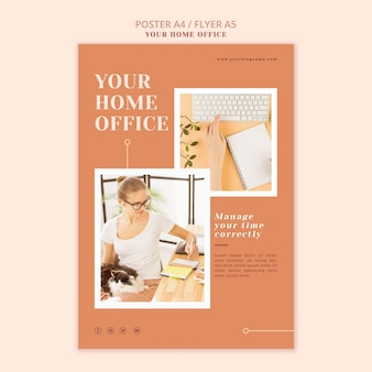 Your home office poster