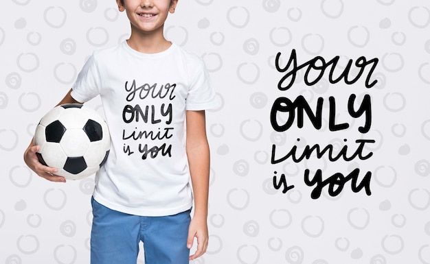 Your only limit is you young cute boy mock-up