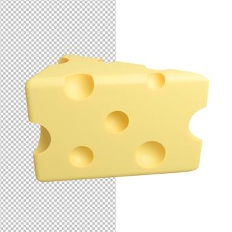 Вкусный вкусный кусок сыра изолирован