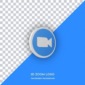 확대/축소 앱 3d 스타일 아이콘