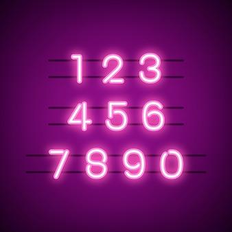 数0〜9の数値システムベクトル