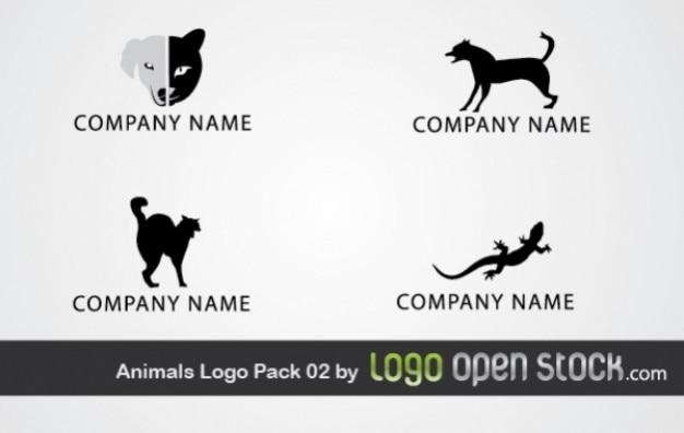 動物のロゴパック02