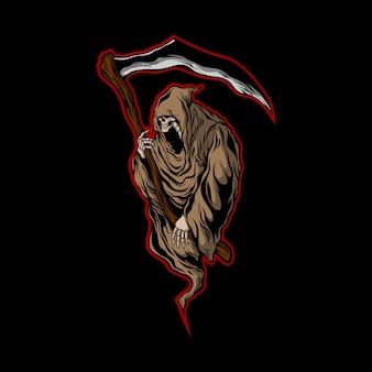 Мрачный жнец логотип 02