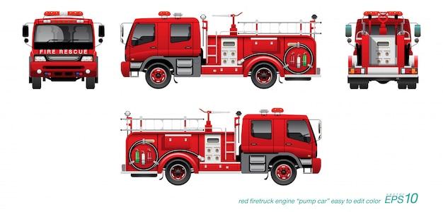 Пожарная машина 02