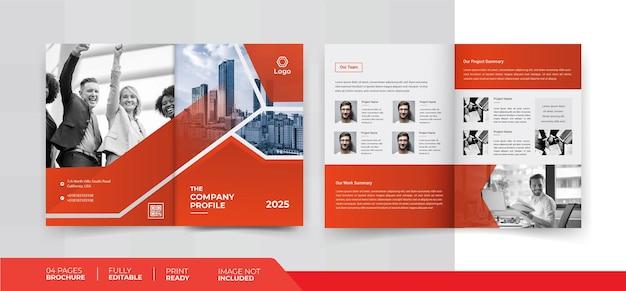 04 pages brochure design