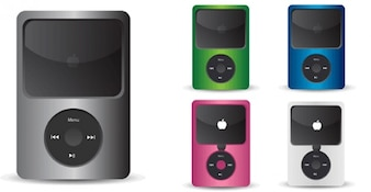 041 IPod Vector Icons