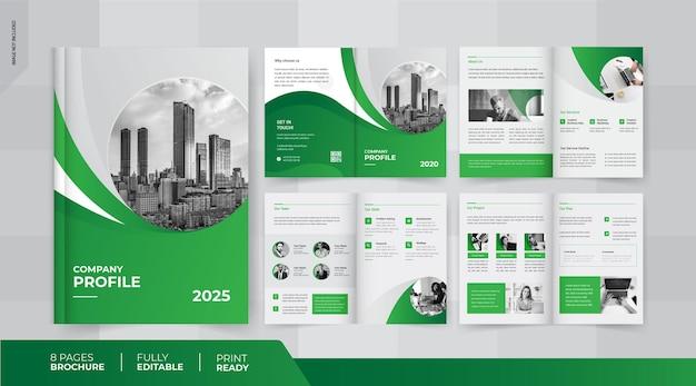 08 pages brochure design