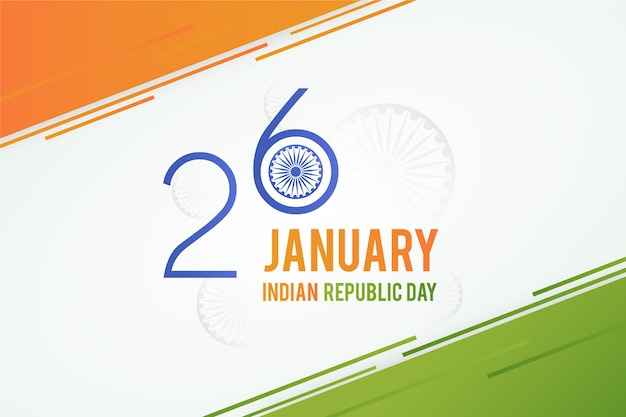 1月26日インド建国記念日