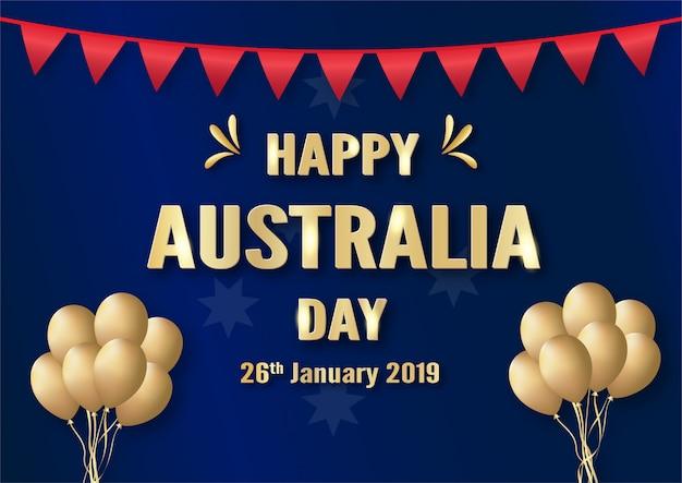 1月26日のハッピーオーストラリアデー。