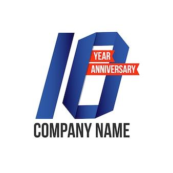 10 year anniversary design