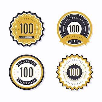 100-летие коллекции значков
