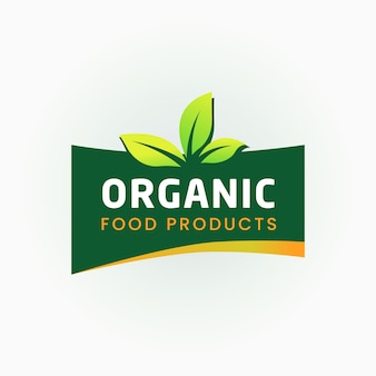 100% organic food  certified label
