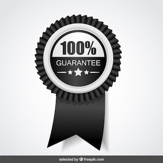 100 percent black and white guarantee