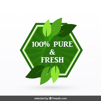 100% pure & fresh