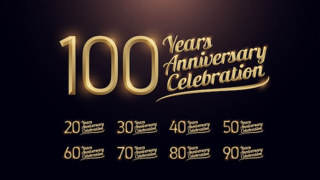 100 years anniversary celebration
