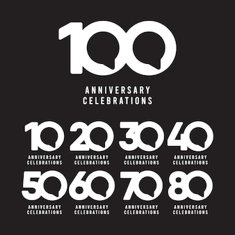 100 years anniversary celebrations