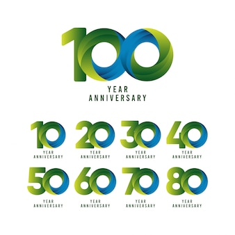 100 years anniversary collection