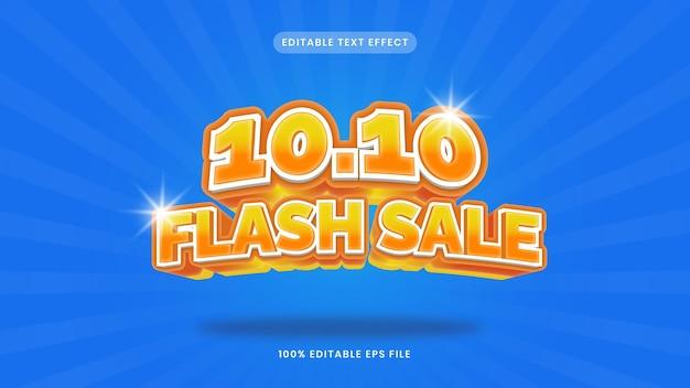 1010 big sale editable text effect