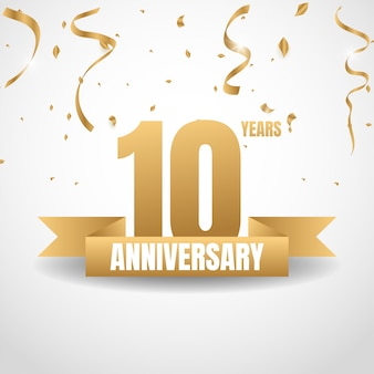 10年ゴールド記念日