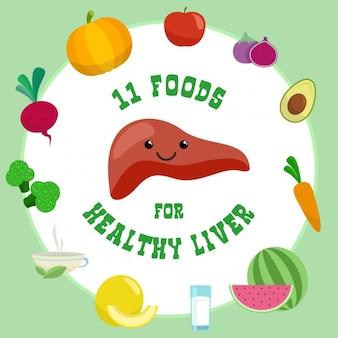 건강한 간을위한 11 가지 음식