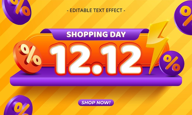 12.12 shopping day sale banner background