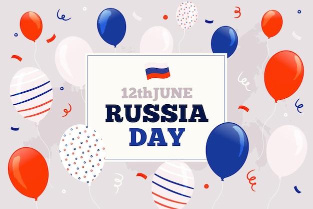 12 июня россия день фон