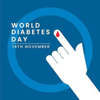 11月14日の世界糖尿病デー