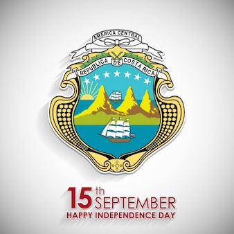 15th september costa rica national day symbol