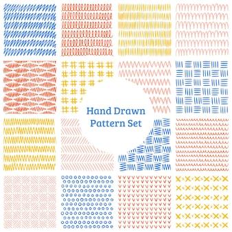 16手描きのパターン