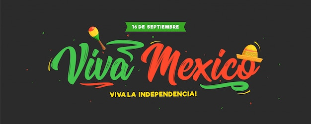 16 сентября день независимости viva mexico
