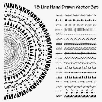18-полосный векторный набор