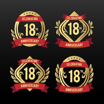 18th birthday badges