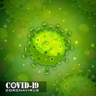 Иллюстрации концепции коронавирусной болезни ковид-19
