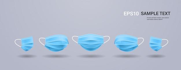 Противовирусные лечебные респираторные маски для лица защита от вируса коронавируса ковид-19
