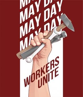 1 май день труда