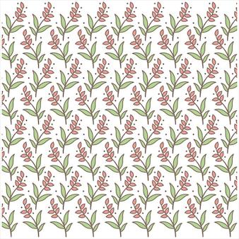 花模様1ロゴベクトル