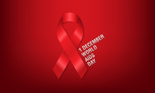 1st december, world aids day poster.