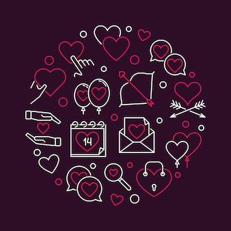 2月14日バレンタインラウンド概要図