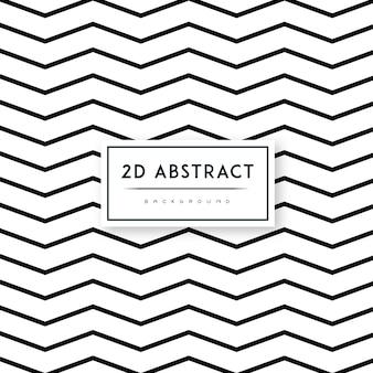 2-dベクトル抽象的な白黒背景パターン