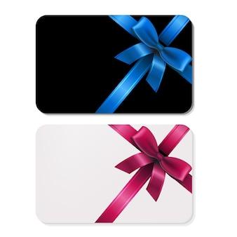 2 подарочные карты
