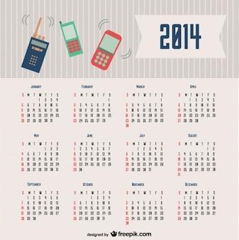 2014カレンダーのコミュニケーションデザイン