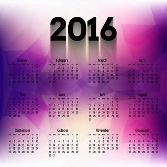 2016 многоугольной календарь