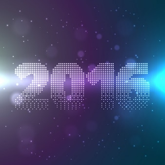 2016 text style in shiny background