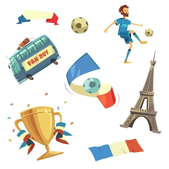 Футбольный комплект евро-2016
