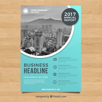 2017 annual business report cover