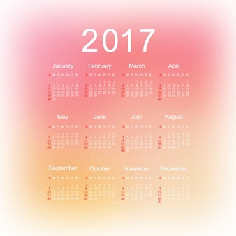 2017 календарь дизайн