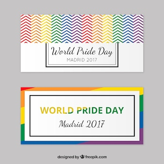 2017 pride world day banners