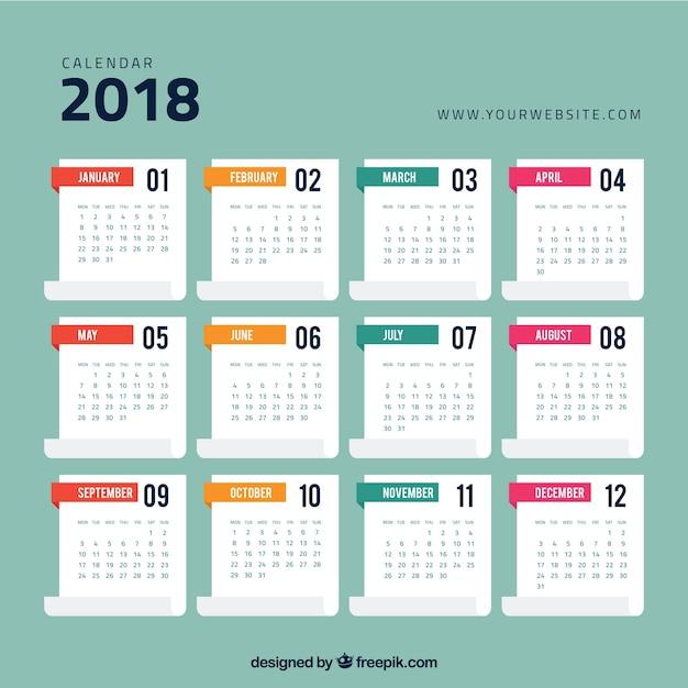 calendar template for website