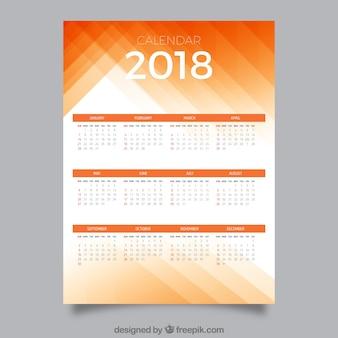 2018 년 달력