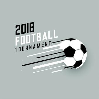 2018 football tournament background